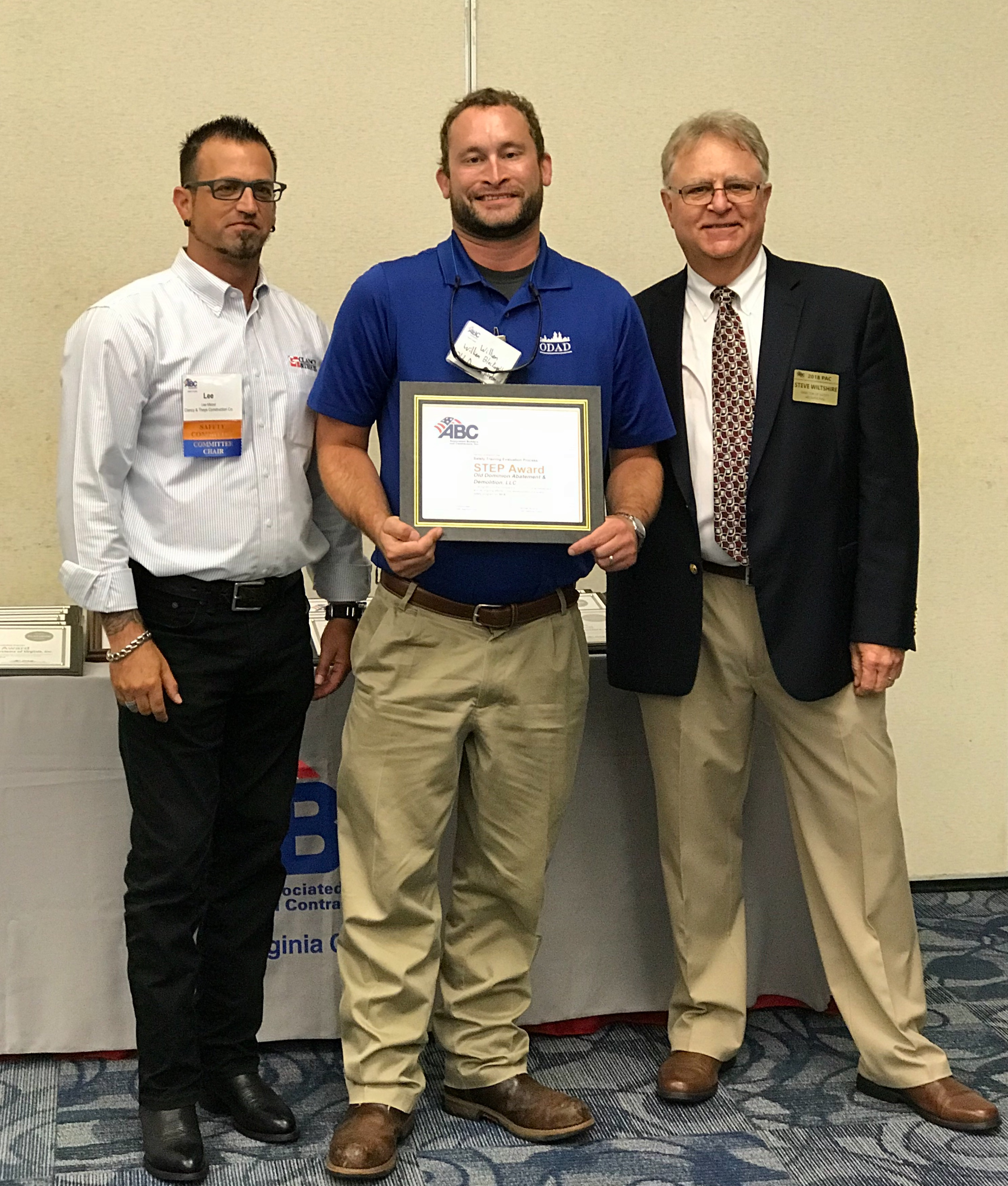 ODI Earns Top Honors for Safety - Old Dominion Insulation