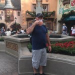 """Epcot: where you can drink a beer """"in every country"""" in one day."""